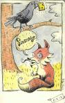 The Fable of the Fox & the Crow