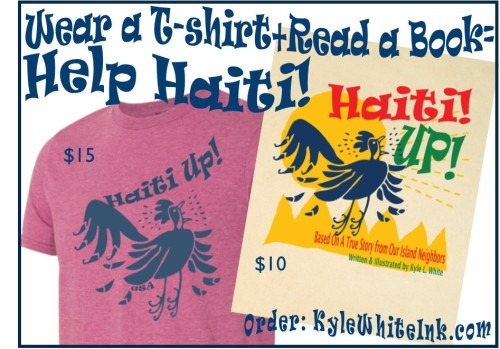 haiti book and t